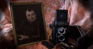 My first camera and my father