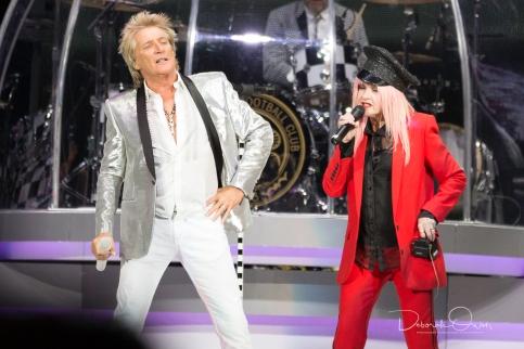 Rod Stewart & Cyndi Lauper